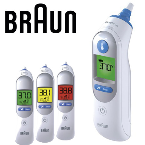 BRAUN IRT6520 ThermoScan 7 couleur