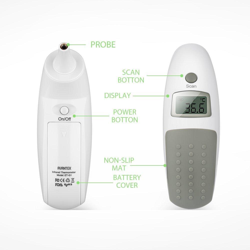 Thermomètre auriculaire AVANTEK image