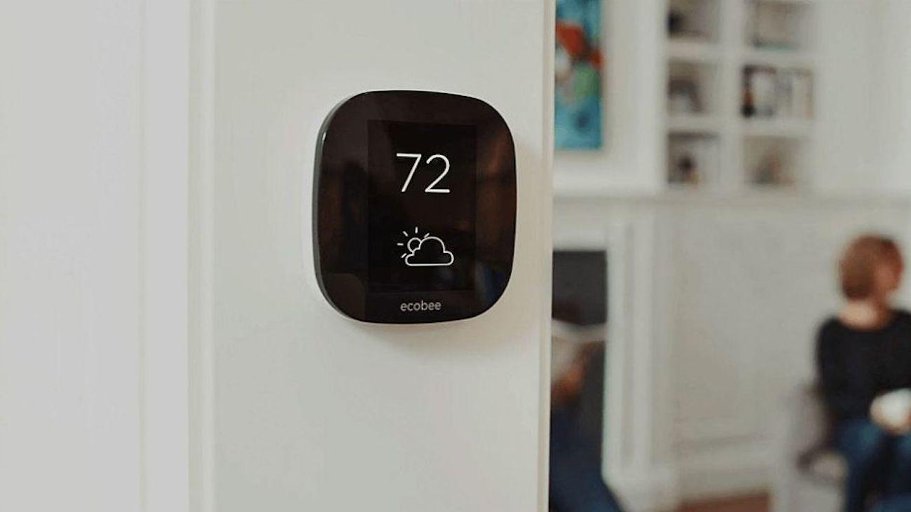 smart thermostat intélligent