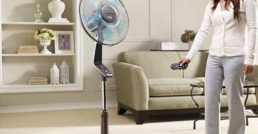 Ventilateur avec télécommande - image